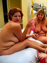 chubby oldies get undressed